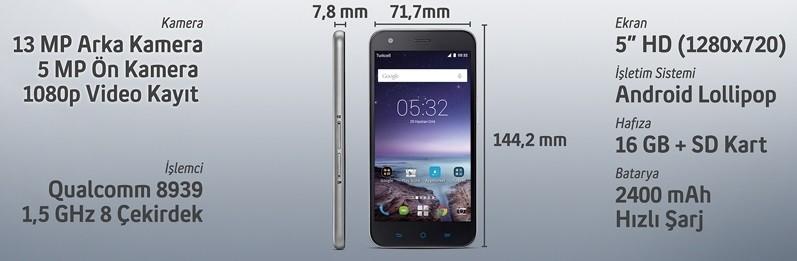 Turkcell T60 özellikleri