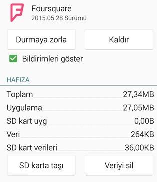 Android Uygulama Bildirimleri kapatma 2