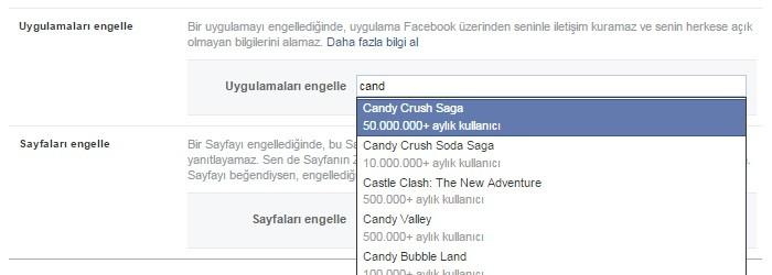 facebook oyun istekleri nasil engellenir