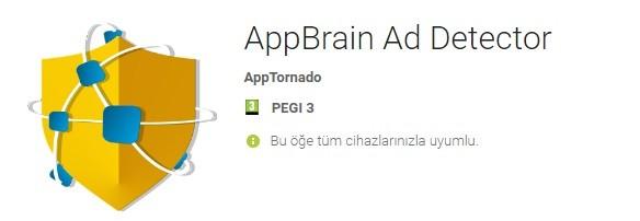 Android uygulama reklam engelleme