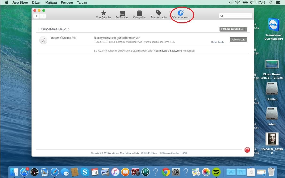 OSX-güncelleme