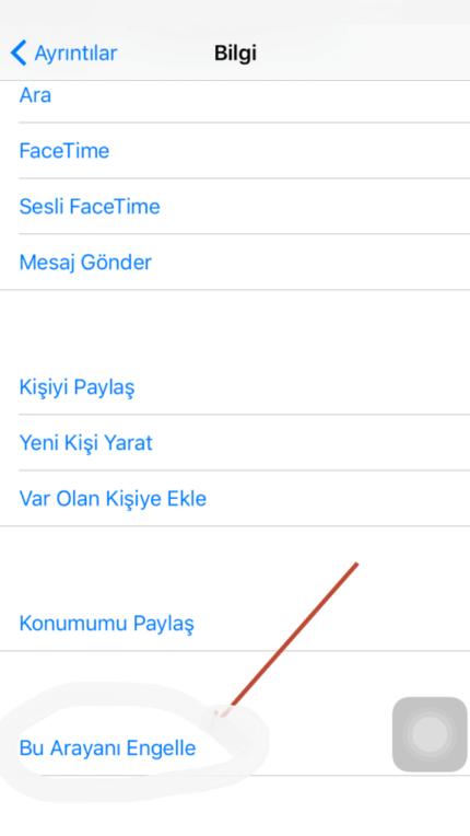 iPhone-mesaj-engelleme